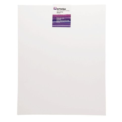 Uniti Blank Canvas 280gsm (16in x 20in) 40cm x 50cm