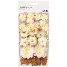 Uniti Paper Flower Set Autumn