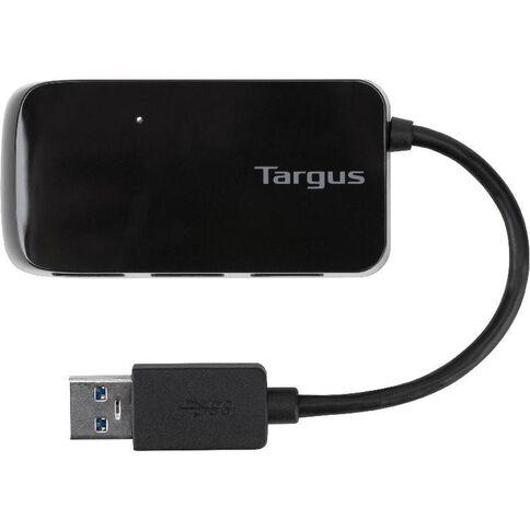 Targus USB 3.0 4-Port Hub Black