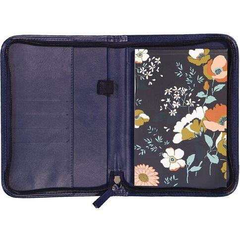 Uniti Winter Bloom PU Zip Journal A5