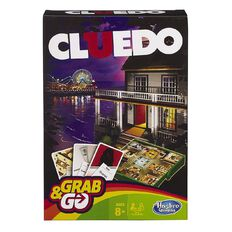 Hasbro Grab & Go Cluedo Game