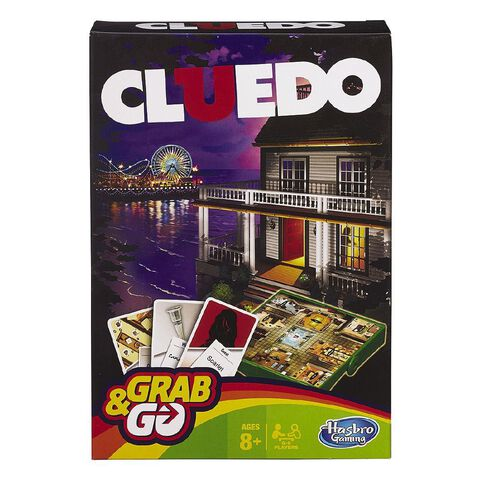 Hasbro Grab & Go Game Cluedo