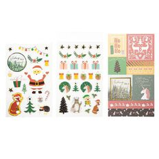 Uniti Santas Grotto Multi-Pack Stickers