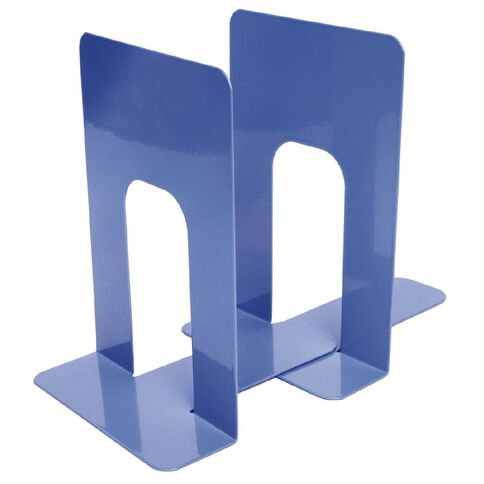 Impact Book Ends Metal 8 Blue