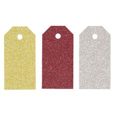 Uniti Christmas Tags Glitter 24 pack