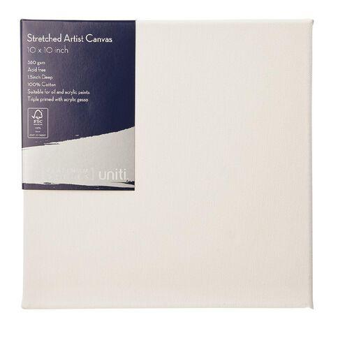 Uniti Platinum Canvas 10x10 Inches 380Gsm