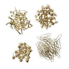 Impact Pins & Clips Set 160 Piece Brass