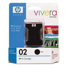 HP Ink 02 Black (660 Pages)