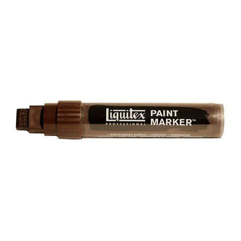 Liquitex Marker 15mm Burnt Umber