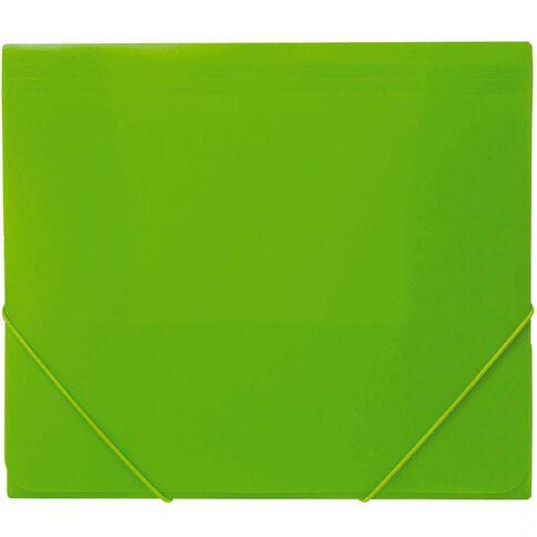 Impact Wallet PP Elastic Green A4