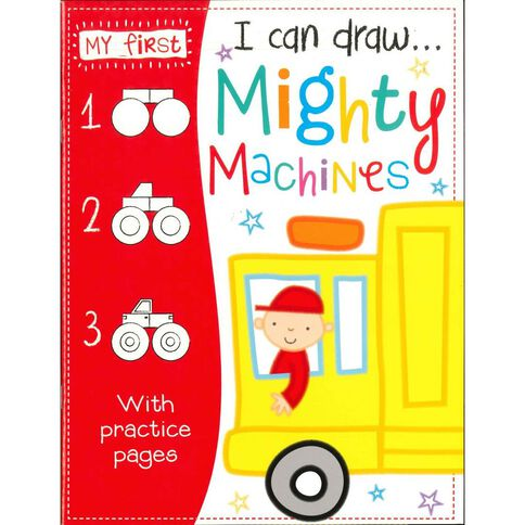 I Can Draw - Mighty Machines