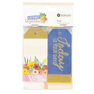 Rosie's Studio Lets Get Together Tags 24 Pack