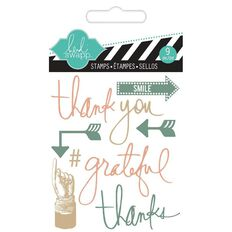 Heidi Swapp Stamps Small Thank You