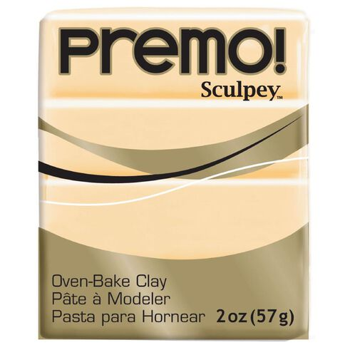 Sculpey Premo Accent Clay 57g Ecru Brown