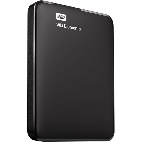 WD Elements 1TB USB3 Portable Hard Drive Black
