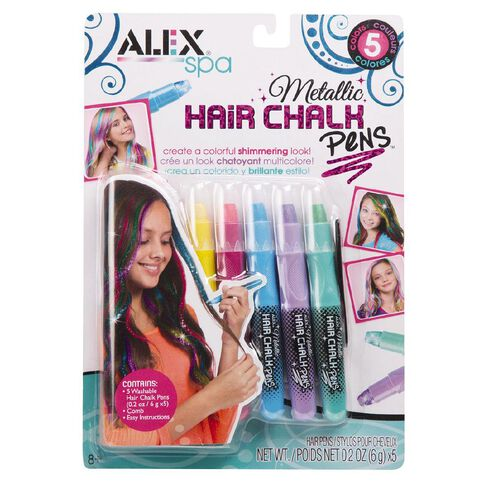 ALEX Hair Chalk Salon Metallic