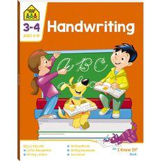 Handwriting I Know It Book (8-10yrs) by School Zone