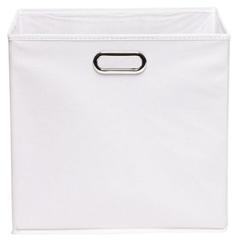 Workspace Storage Box Folding 9 & 12 Cube White