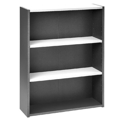 Jasper J Emerge Bookcase 1200 White/Ironstone