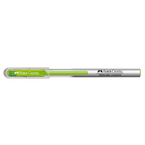 Faber-Castell Gel Pen True Gel Colour 0.7mm Light Green