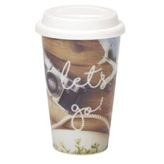 Banter Adventures Takeaway Coffee Cup Multi-Coloured