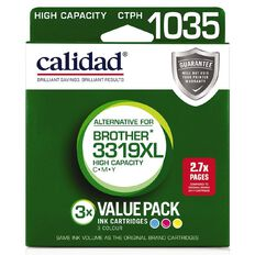 Calidad Brother LC3319XL Cyn Mag Yel 3 Pack