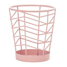 Uniti Wire Pen Cup Pink