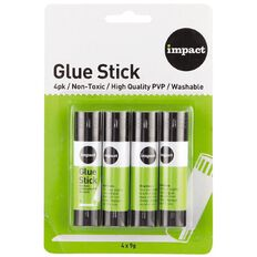 Impact Glue Stick 9g 4 Pack