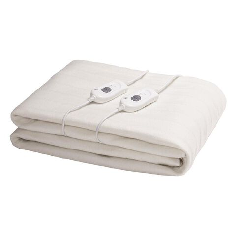 Living & Co Electric Blanket Fitted Queen 152 x 203 x 50cm