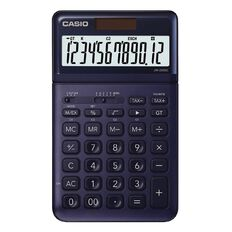 Casio JW200SCNY Desktop 12 Digit Calculator Stylish Navy