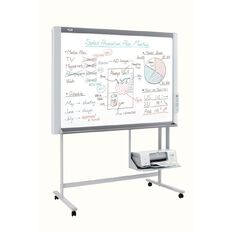 Plus Whiteboard Electronic N-20S With Stand & Printer White