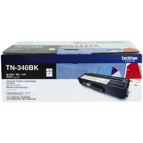 Brother Toner TN340 Black (2500 Pages)