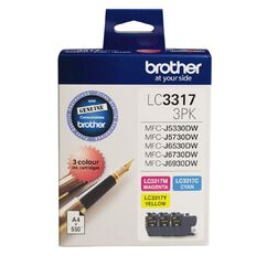 Brother Ink LC3317 Colour 3 Pack