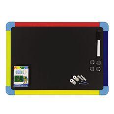 Impact Magnetic Whiteboard/Blackboard A3