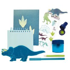Kookie Dinosaur Stationery Set 8 Pieces