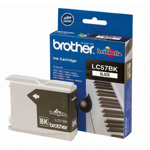 Brother Ink LC57 Black (500 Pages)