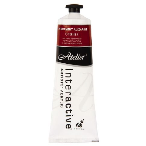 Atelier S4 Permanent Alizarine Red 80ml