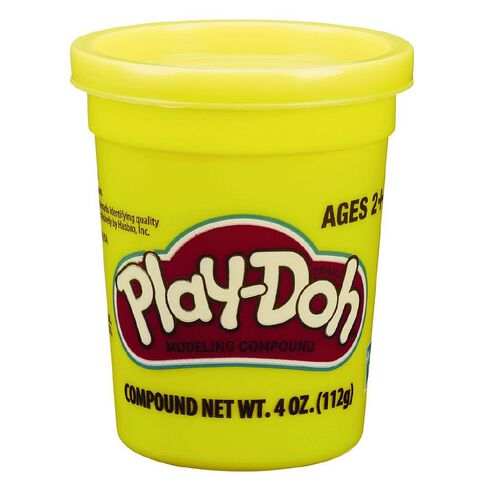 Play-Doh Single Tub 4oz Assorted