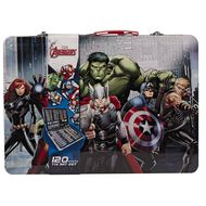 Avengers Tin Art Set 120 Pieces