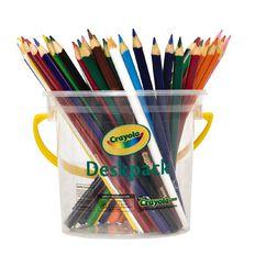 Crayola Triangular Pencils Deskpack 48 Pack