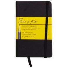 Jasart Sketch & Write Sketch Book Black A5