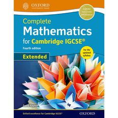 Igcse Year 11 Mathematics Complete Mathematics Student Book Extended