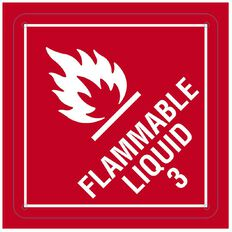 WS Flammable Liquid Sign Small 300mm x 300mm