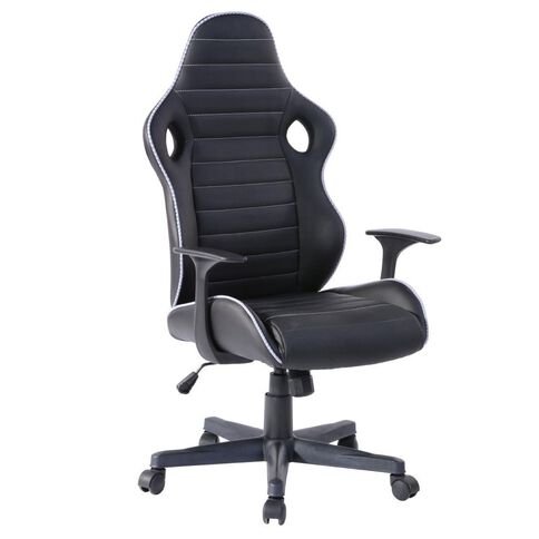 Workspace Lincoln Chair Black