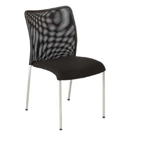 Eden Run Mesh Back Meeting Chair Black