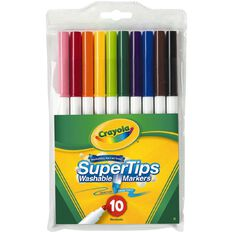 Crayola Super Tip Markers 10 Pack 10 Pack