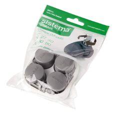 Sistema Castor Wheels 4 Pack Grey