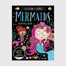 Scratch and Sparkle Mermaid Activity Book