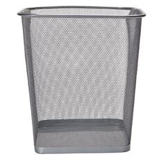 Impact Mesh Rubbish Bin Pewter