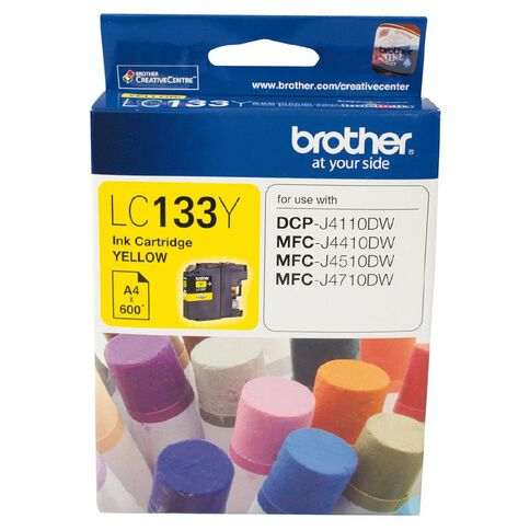 Brother Ink LC133 Yellow (600 Pages)